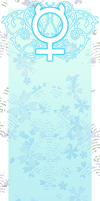 Sailor Mercury bookmark by Marc-G