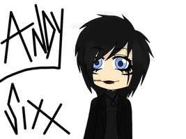 Andy Sixx by TheLineArtist