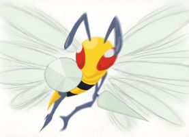 #015 Beedrill by Silverthe-Dragon