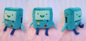 BMO plush by Fafatacle