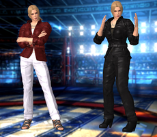 Nina Williams(Casual) Tekken 6/Revolution by XKammyX