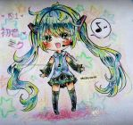 Happy belated birthday Miku-chan by CryptoPhonic