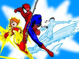 Spider-Man and Amazing Friends by Sideways8Studios