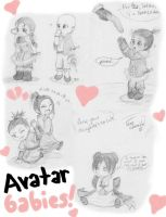 Avatar Toddlers by Kaede-chama