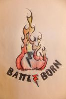 Battle Born Doodle by Neon-Tiger-7
