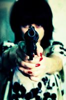 i shot u down, bang bang by LondonCaine