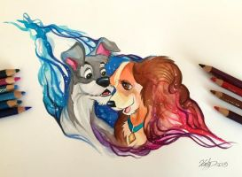 181- Lady and the Tramp by Lucky978