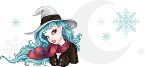 Cyan witch by Gabonica