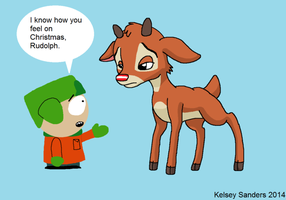 South Park: Rudolph and Kyle by KelseyEdward