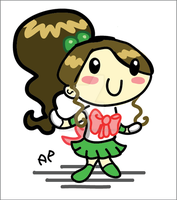 Sailor Jupiter chibi by ANTONIOMASTERPERES