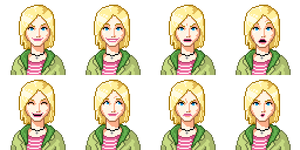 Veronica Mars Faceset by morlockhater