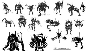 Thumbnail Mechs 1 by 128Bray