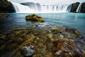 Godafoss - Iceland by victorguidini