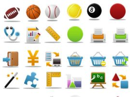 Pretty office icon set part 6 by FreeIconsFinder