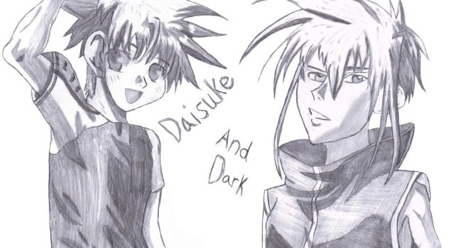 D is for Daisuke and Dark by haruhi65