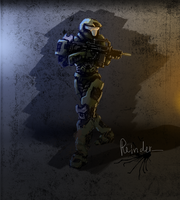 halo sketch by Reinder88