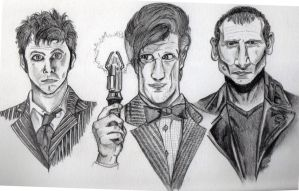 3 Doctors... by Beth182