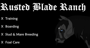 Welcome to The 'Rusted Blade' Ranch! by Massacres-Depression