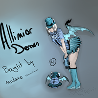 Allimiar Demon  #4 Hatched by Allixi