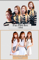 Pack PNG #80 #81: Bomi and Kim ShinYeong by jimikwon2518