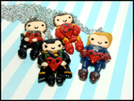 Custom Avengers BFF Set by GrandmaThunderpants