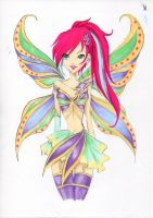 Coloured for Nina-D-Lux, Tec Metallix by Silencelabyrinth