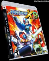 MegaMan X9 Box Art by MegaMac