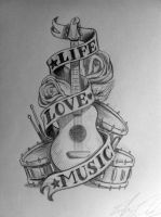 Life Love Music by SimianBrothers