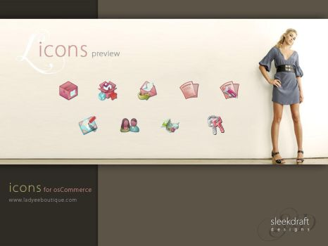 Ladyee Icons by divertedworks