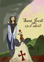 The Legend of San Jordi by InTheArmsOfUndertow