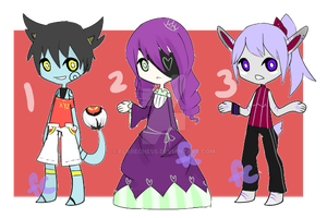 Old OC Adopts [CLOSED] by flarechess