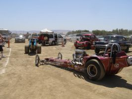 Towing 2 Dragsters by Jetster1