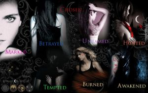 UPDATED House of Night wall :D by xjesus-freakx