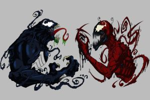 Venom and Carnage by SuiCom
