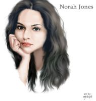 Norah Jones 2 by mudspit
