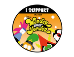 I Support Wander Over Yonder - Button #SaveWoy by Mrgametv1994