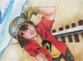 Takuya - Digimon 04 Frontier by Mad-Hatter----X