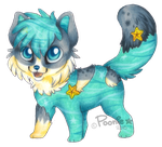 Woof of the Water by PoonieFox
