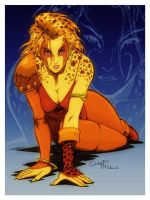 mistermoster collab - Cheetara by ThunderCats