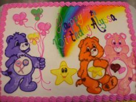 Care Bears by AingelCakes