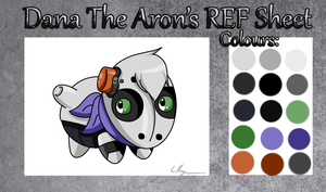 Dana The Aron REF Sheet. by ZAFTs-Prince