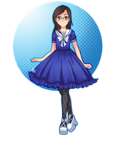 Blue Sailor by HatterMadness