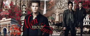 Stefan and Damon by VaLeNtInE-DeViAnT