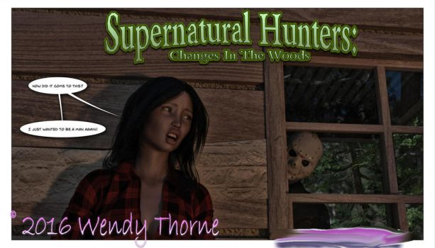 Changes In The Woods Now Available by Wendy-The-Red