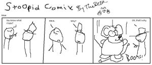 Stoopid comix Mice by TheReza13