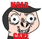 Cole Wants Moar Cake by CorporalMarshmallow