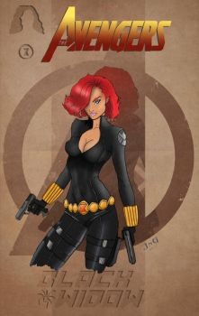 BlackWidow by NickyGonzalez