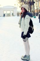 Russian girl winter -25 by Tenori-Tiger