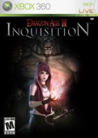 Dragon Age III: Inquisition Morrigan Cover Art by RedVirtuoso