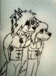 Me and my girlfiend by KillerCroc133166